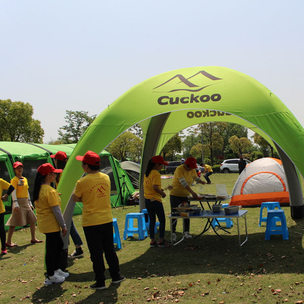 Cuckoo Family travel camping tent (12)
