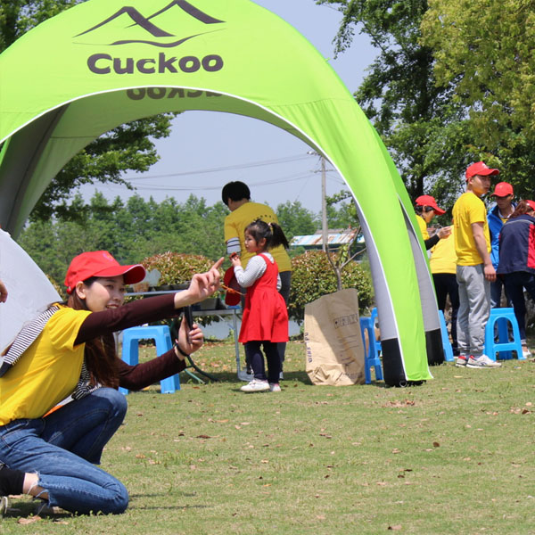 Cuckoo Family travel camping tent (4)
