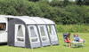 New Luxury Trio Sliding sunproof All season portable lightweight porch Motorhome Custom inflatable awnings