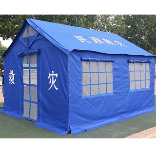 50 Person Large Heavy Duty Canvas Disaster Relief Tent Tent